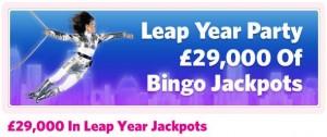 Mecca Bingo Leap year Promotion